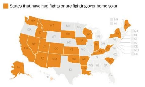 States Fighting Solar